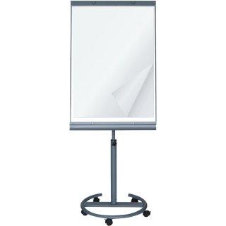 Flip Chart mit Whiteboard auf Rollen