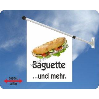Flagge Baguette und mehr