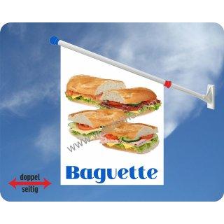 Flagge Baguette