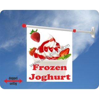 Flagge Frozen Joghurt