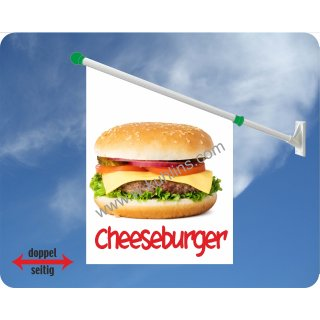 Flagge Cheeseburger