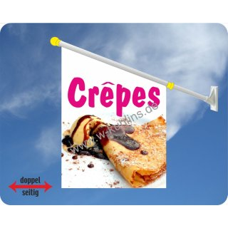 Flagge Crepes mit Eis