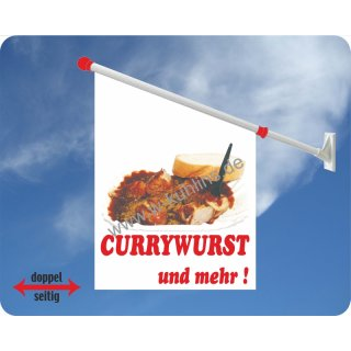 Flagge Currywurst
