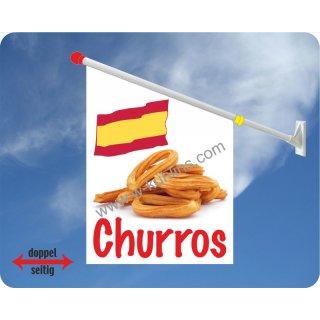 Flagge Churros
