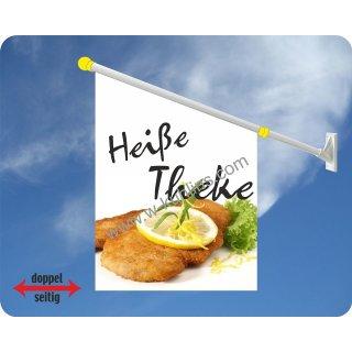 Flagge Heiße Theke