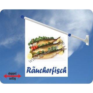 Flagge Räucherfisch