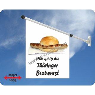 Flagge Bratwurst Thüringer