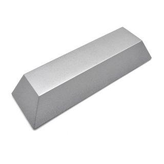 Kunststoffattrappe Silberbarren
