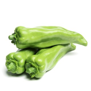 Kunststoffattrappe Spitzpaprika grün VE 3