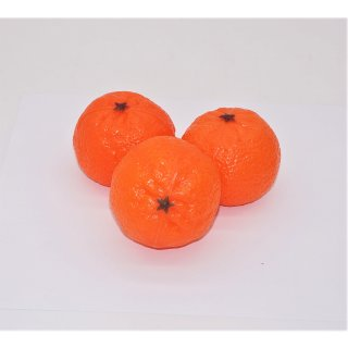 Kunststoffattrappe Mandarinen VE 3