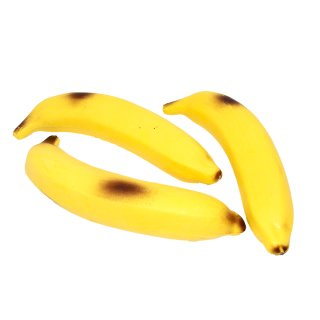 Kunststoffattrappe Banane klein