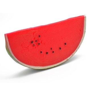Attrappe Wassermelone Viertel groß