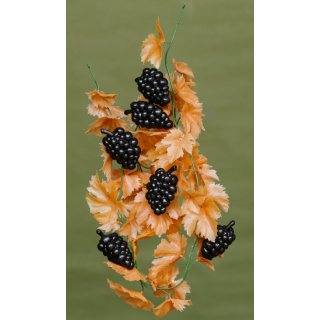 Kunststoffattrappe Girlande Traube Herbst