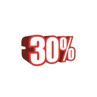 """Ankleber """"3D-30%"""""""