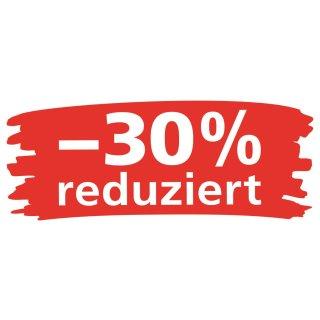 """Ankleber """"Wischer - 30% reduziert"""""""