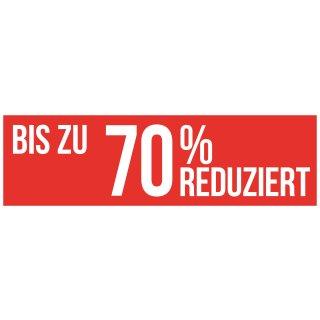 """Ankeber """"Bis zu 70% REDUZIERT"""""""