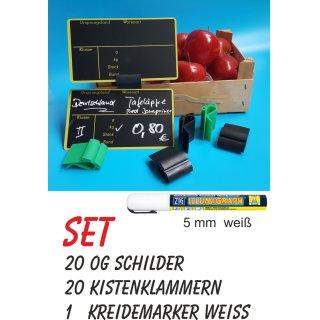 Preisschild für Obst und Gemüse Ursprungsland Set