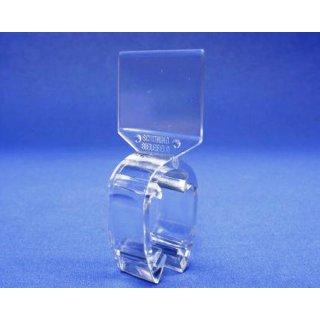 Größenreiter für Ovalrohre transparent