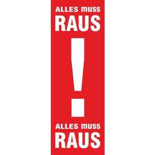 "Langbahn ""Alles muss Raus!"", Ohne Klemmschiene"