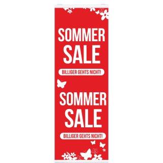 """Langbahn """"Sommer Sale"""", Mit Klemmschiene"""