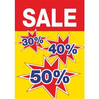 """Rahmenplakat DIN A1 """"30% 40% 50%"""""""