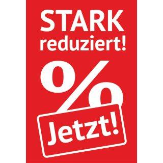 "Rahmenplakat DIN A1 ""Jetzt Stark Reduziert!"""