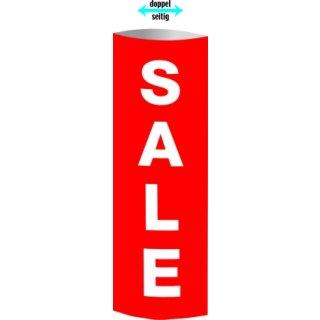 """Säulendisplay """"Sale"""" 32,5 x 93,4 cm"""