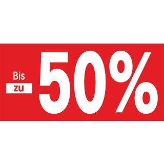 Papierstreifen bis zu 50%