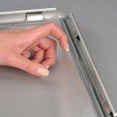 Bilderrahmen Aluminium 24mm Silber DIN A5