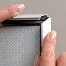 Bilderrahmen Aluminium 24mm Silber DIN A4