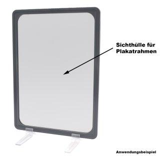 Sichthülle / Schutzhülle für Plakatrahmen DIN A4