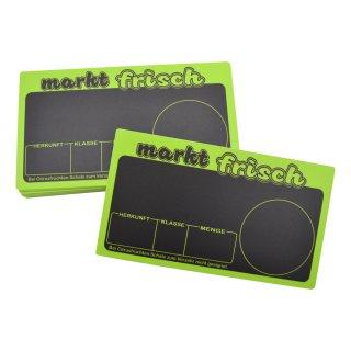 Preisschild für Obst und Gemüse Marktfrisch VE 20