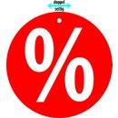 """Hänger """"% Prozentzeichen"""""""