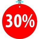 "Hänger ""30%"""
