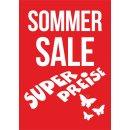 """Rahmenplakat DIN A1 """"Sommer Sale - Super Preise"""""""