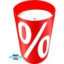 """Verkaufsschütte """"%-Zeichen"""" Ø 50..."""